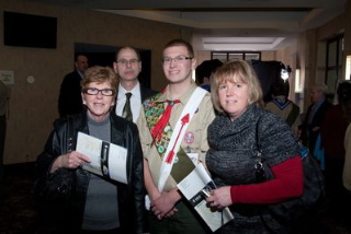 Boy Scout Troop 32 Eagle Scout Andrew T