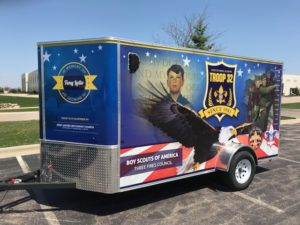 Troop 32 Gets a New Trailer