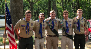 5 Eagle Scouts Sighted!